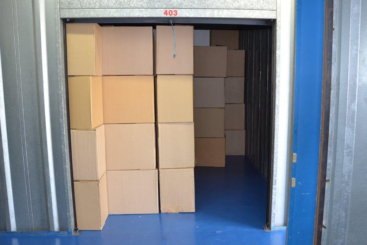 Modelo de Box da Brasil Storage