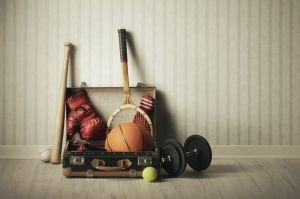 Como fazer a armazenagem de materiais esportivos de maneira correta?