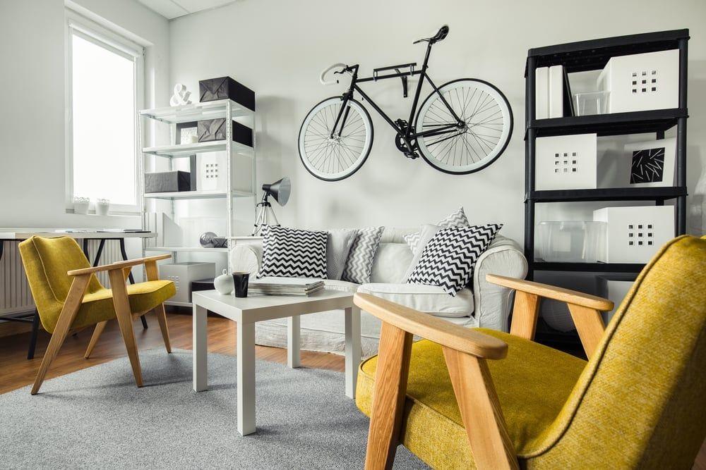 10 maneiras criativas para quem precisa guardar bicicletas e não tem espaço
