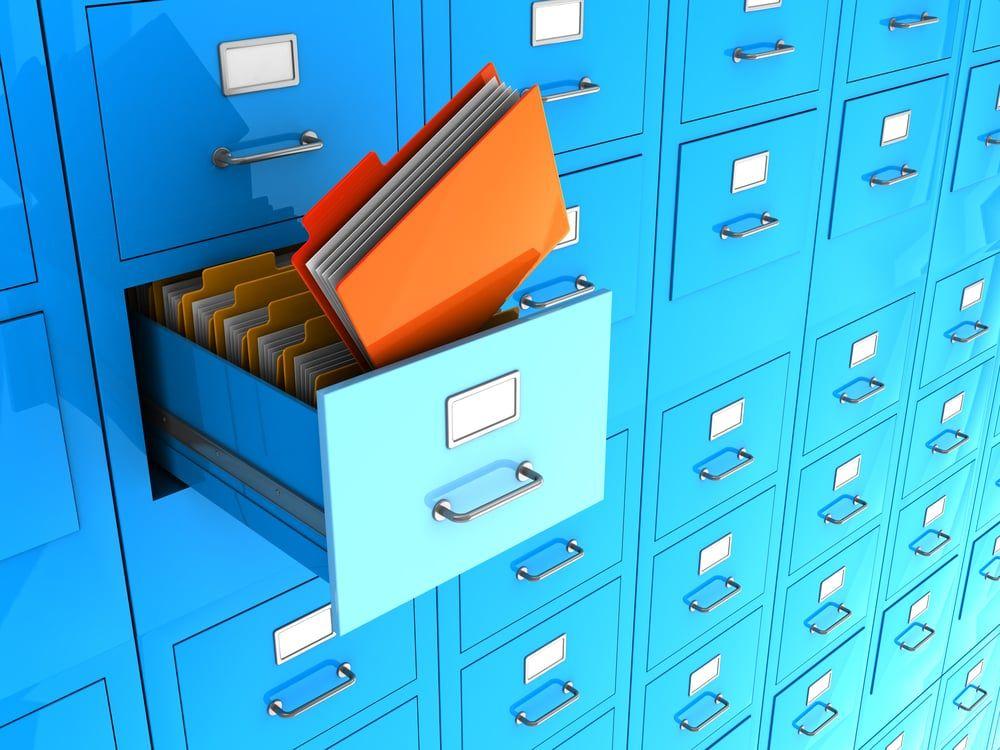 5 dicas para manter o arquivo morto em boas condições