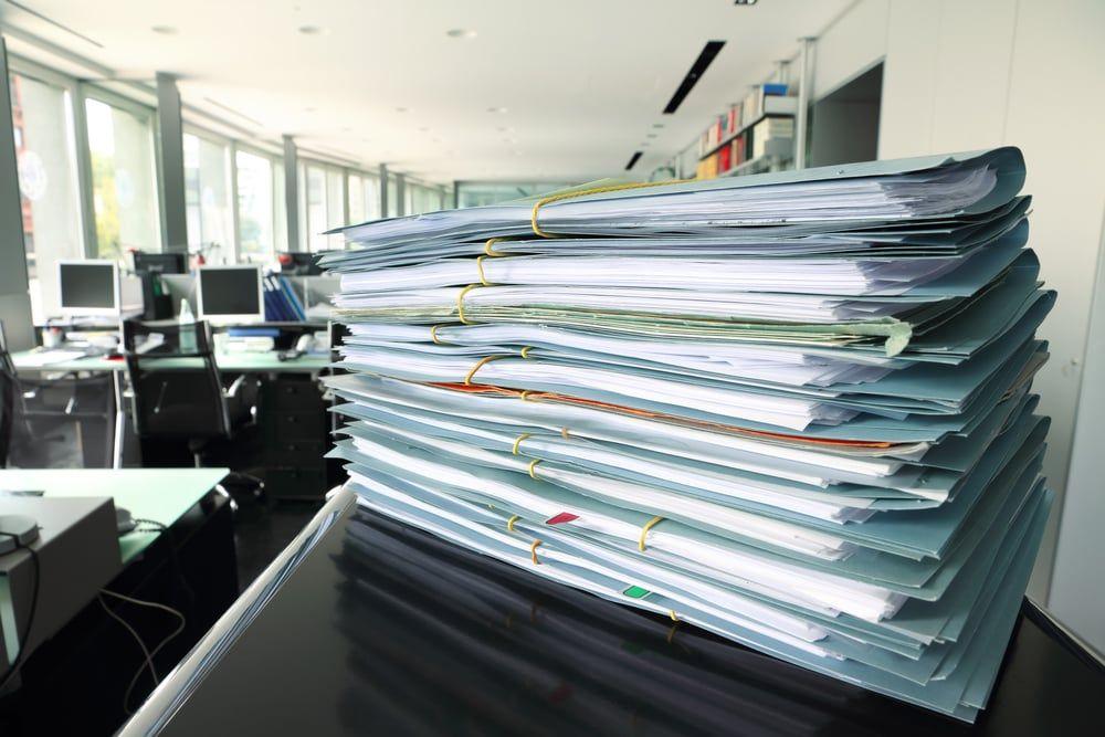 Como devo armazenar os documentos da minha empresa?